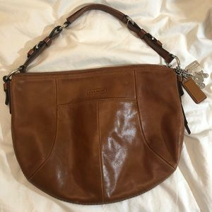 Authentic Coach hobo style bag